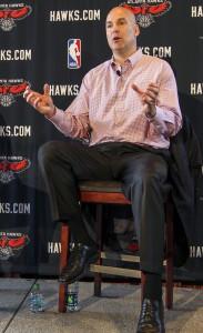 NBA: Atlanta Hawks-Mike Budenholzer Press Conference