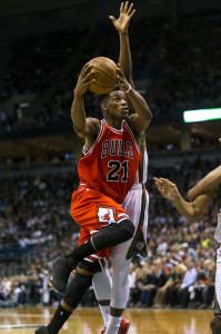 NBA: Playoffs-Chicago Bulls at Milwaukee Bucks